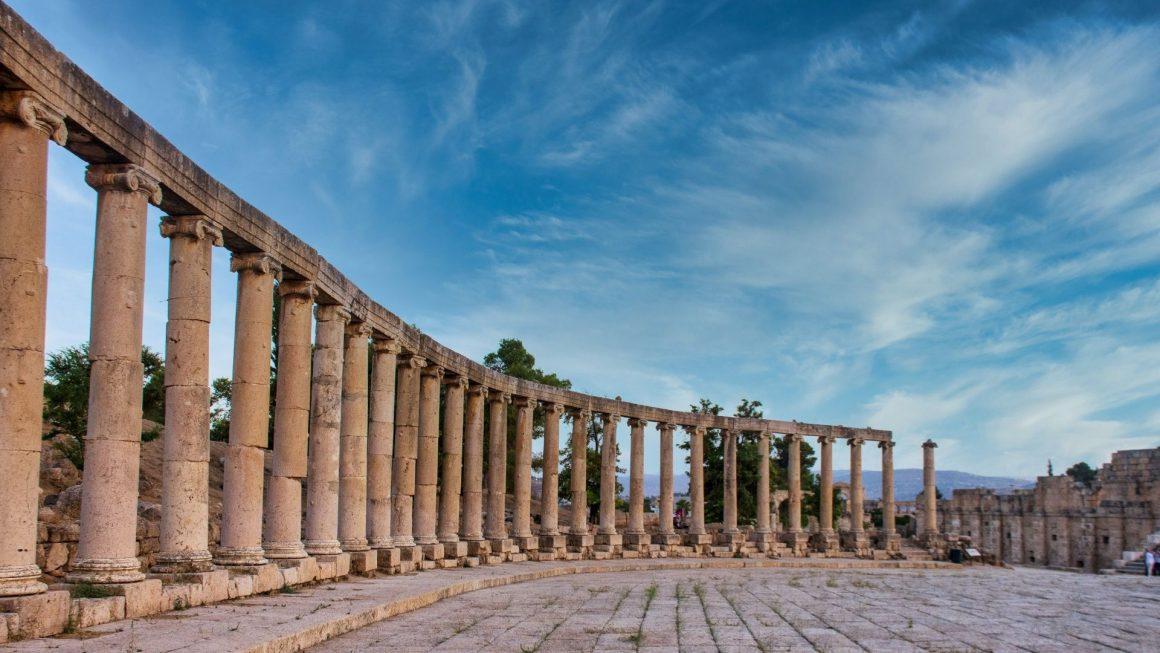 oude tempel ruïne